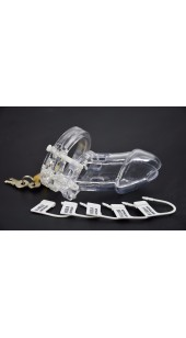 Locking Male Chastity Device CB6000 in A Range Of Colour's.