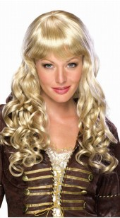 Mixed Highlights Elise Blonde Wig.