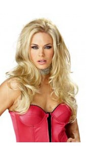 Blonde Bombshell Seductress Wig.