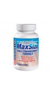 MaxSize - Penis Erection Enhancement - 60 caplets.