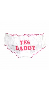 YES DADDY Womens Panties One Size.