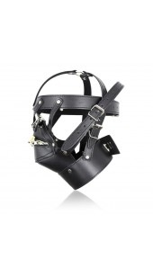 Premium Leather Face Harness.