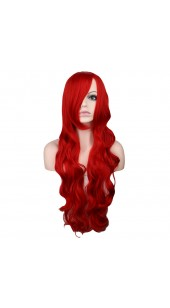 Desire Long Wavy Red Wig (38 inches long)
