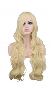 Desire Long Wavy Blonde Wig (38 inches long)