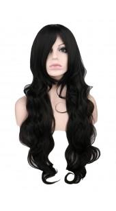 Desire Long Wavy Black Wig (38 inches long)