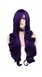 Desire Long Wavy Purple Wig (38 inches long)