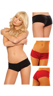 Black or Red Sexy Hot Pants A Range Of Sizes.