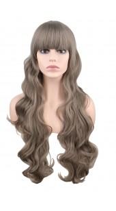 Desire Long Wavy Gray Wig (38 inches long)