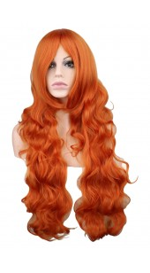 Desire Long Wavy Brown Wig (38 inches long)