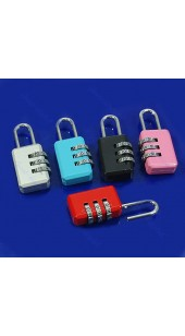 CJSJ Three Digit Combination Lock In A Range Of Colours.