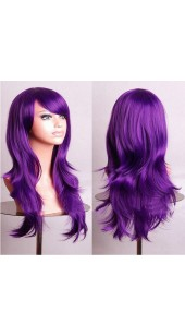 Similler Long Purple Wig (28 Inch) With Two Free Wig Caps.
