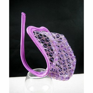 Purple C-String With Gold and Purple Detail. *3A*