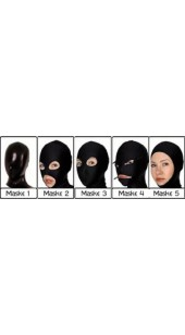 Black Metallic Hood In Six Style Choices and Sizes Small To XXXL.