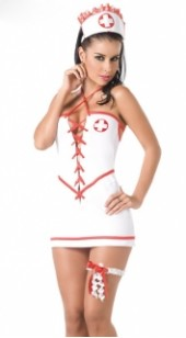 Four Pc Nurse Costume.