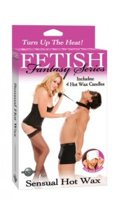 Fetish Fantasy Five Piece Sensual Hot Wax Kit.