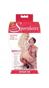 Sportsheets Vibrating Strap On Thigh Harness.