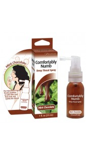 Deep Throat Mint Chocolate or Spearmint Flavoured Desensitizing Spray.