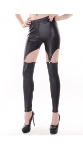 Three Pc Stretch Spandex Shorts With Four Garters in Three Colour Choices.