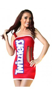 Sexy Twizzlers Costume.